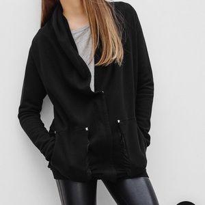ARITZIA WILFRED FREE Rousseau Cardigan Sweater Black